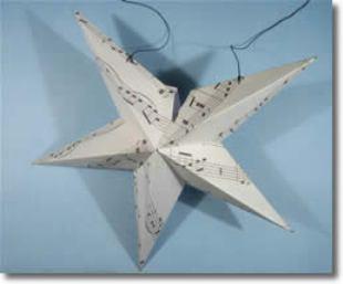Как сделать объемную звезду из картона пятиконечная 31