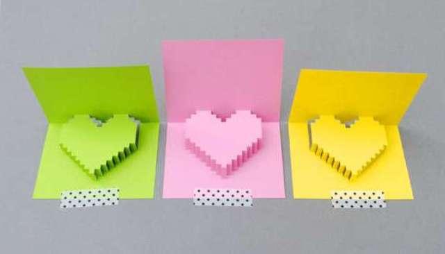 Как сделать открытку с днем рождения своими руками из бумаги подруге