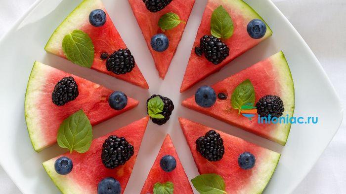 10 самых лучших ягод, овощей и фруктов, утоляющих жажду и почти заменяющих воду