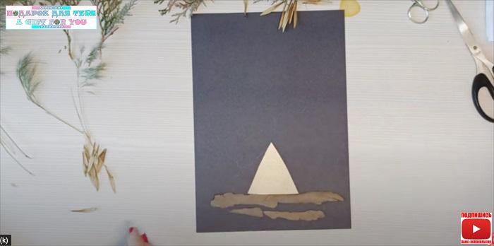 кора и палатка
