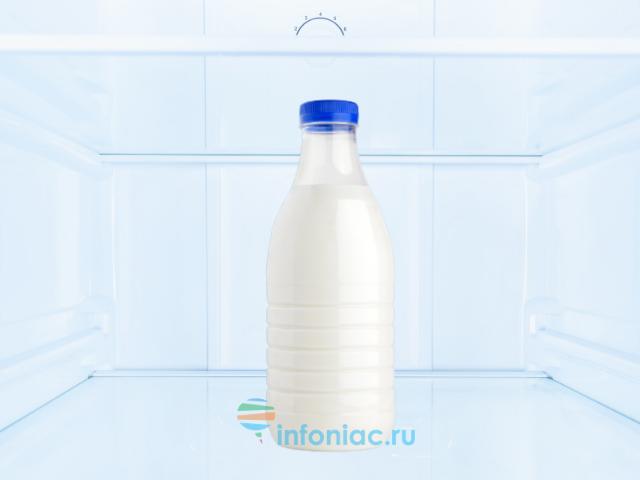 Как заморозить молоко и как его потом использовать?
