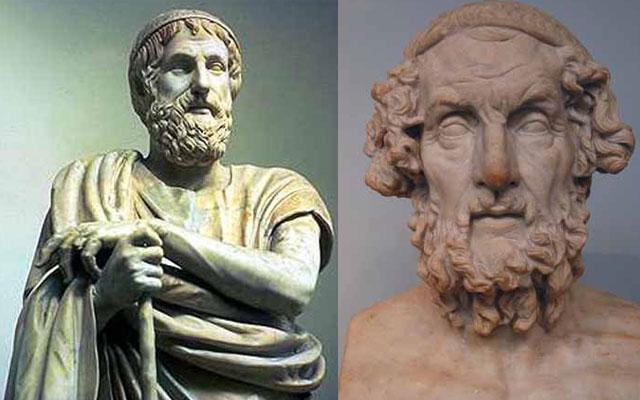 Известные произведения древнегреческих авторов