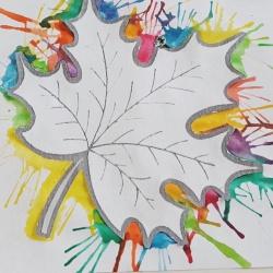 Кляксография - развивающий метод рисования для детей