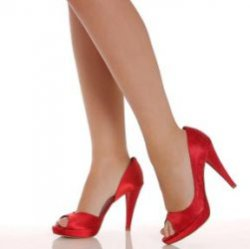 Мужчины не замечают женщин на каблуках