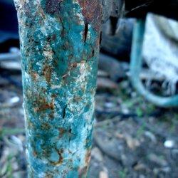 Место хранения радиоактивных отходов – зеленая ржавчина