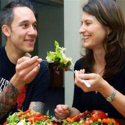 Вегетарианцы реже болеют
