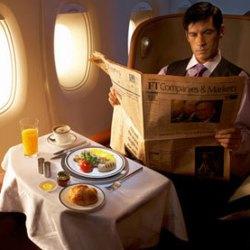 Ученые выяснили, почему еда в самолете кажется невкусной