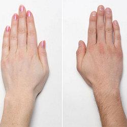 На какие способности указывают пальцы рук