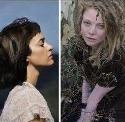 Вы уже догадались, что необычного в этих женских изображениях?