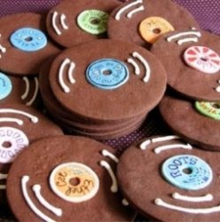 Шоколадная музыка или пластинка из чистого какао