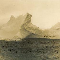 Айсберг, потопивший Титаник