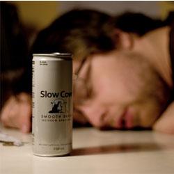 Энергетические напитки вызывают алкогольную зависимость