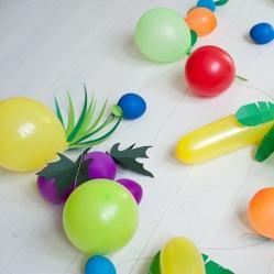 20 оригинальных поделок из шариков