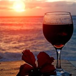 Вино – натуральное солнцезащитное средство