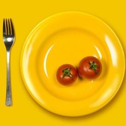 Как цвет тарелки влияет на размер порции?