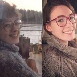 15 фотографий матерей и дочерей, которые похожи как две капли воды