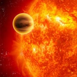 "Как звезда ""проглотила"" планету"