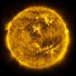 3 года из жизни Солнца за 3 минуты