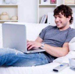 Мужчинам не следует держать ноутбук на коленях