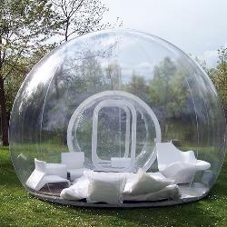 Личный пузырь-хижина для единения с природой