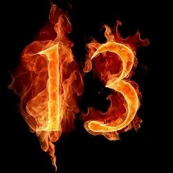 13 причин, почему число 13 считается несчастливым