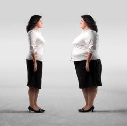 Потеряв вес, женщина выглядит привлекательнее не полневшей никогда