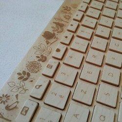 Деревянная клавиатура - новое творение западных специалистов
