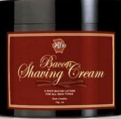 Запах сильного мужчины и…вкусного завтрака: крем для бритья с ароматом бекона