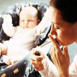 Привычки курения передаются детям