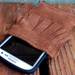 Чехол для телефона и ноутбука своими руками