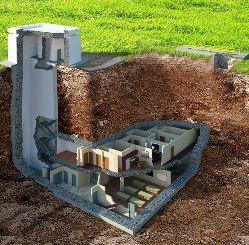 Внутри самого шикарного в мире бомбоубежища
