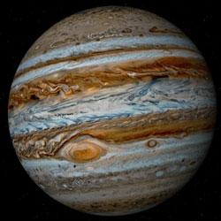 Газовый гигант Юпитер