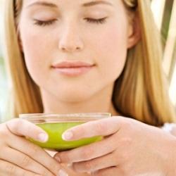 Зеленый чай помогает поддерживать стройность