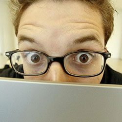 Как защитить глаза при работе за компьютером
