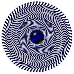 Остаточные изображения после закрытия глаз создает мозг