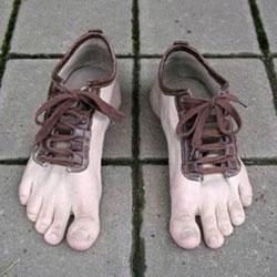 Бегать босиком полезнее, чем в обуви