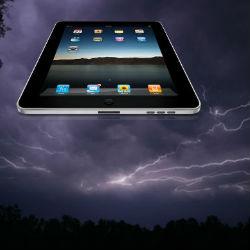 """Гигантский НЛО """"в виде iPad"""" появился над Техасом"""