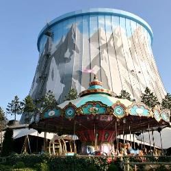 Атомную электростанцию превратили в парк развлечений
