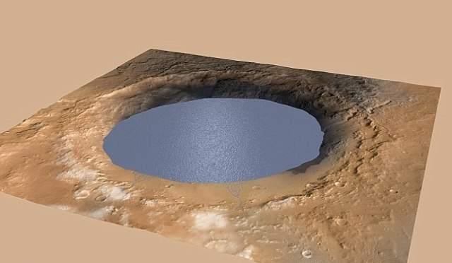 Жизнь на Марсе? Марсоход Curiosity обнаружил метан, воду и органические молекулы