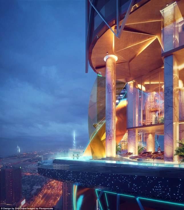 Первый в мире отель с джунглями и искусственным пляжем