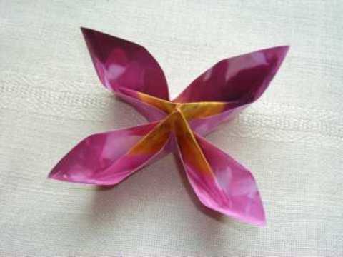 Оригами из бумаги. Схема