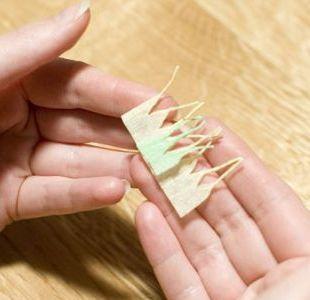 366Как сделать цветок из бумаги подснежник