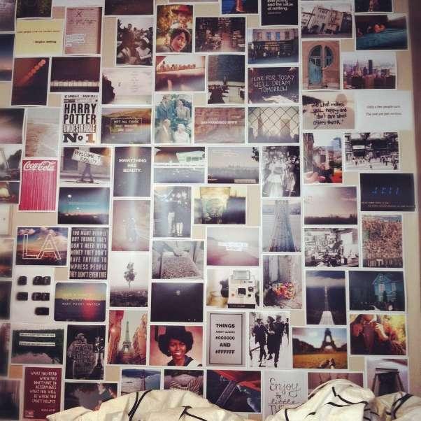 Коллажи из фотографий на стену своими руками