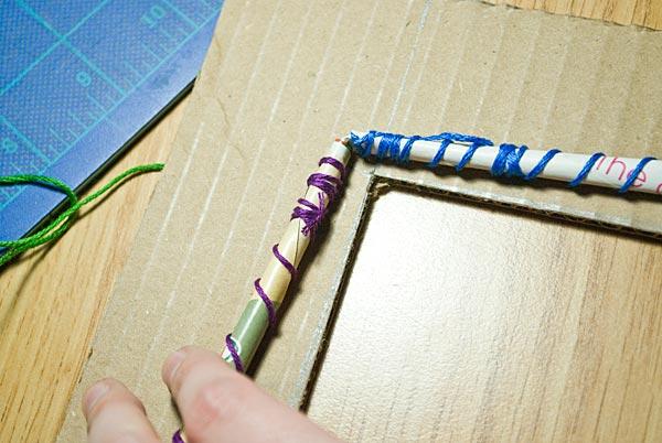 Как руками сделать рамки для
