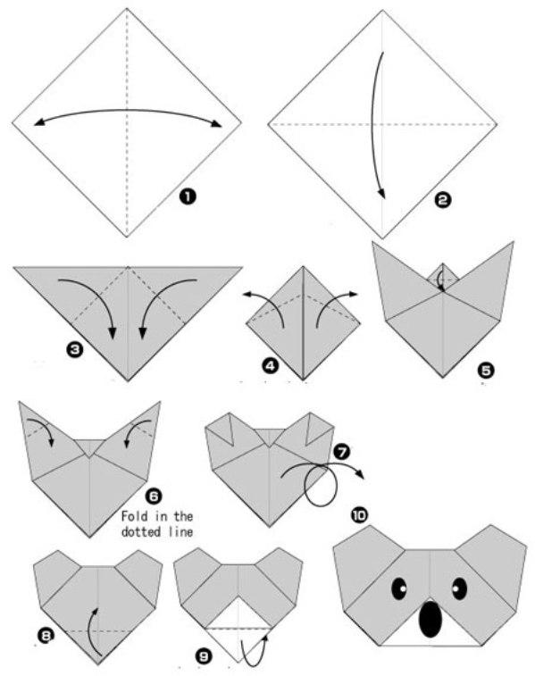Поделки из оригами своими руками для детей видео