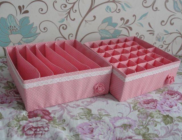 Коробка для хранения белья сделать своими руками 199