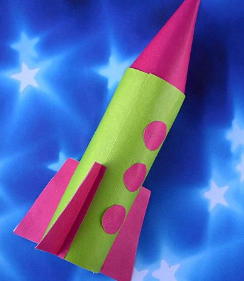 Как сделать ракету из спичек своими руками