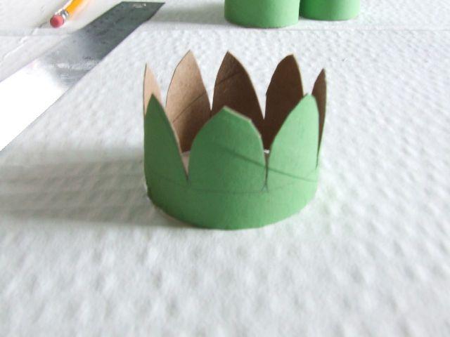 Как сделать с картона цветок