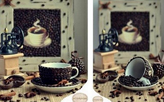 Сувенир с кофе своими руками