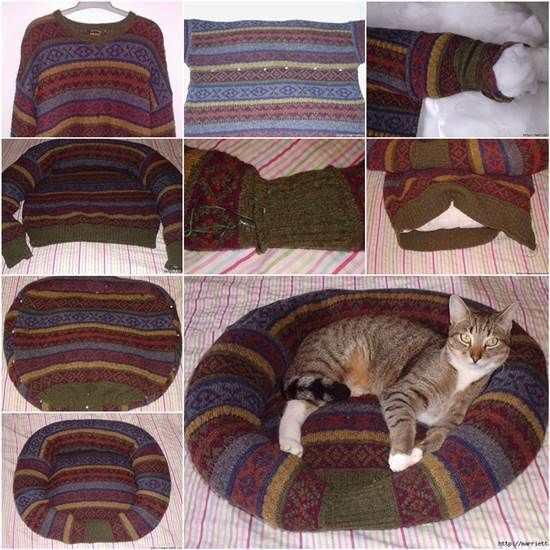 Из старого свитера своими руками